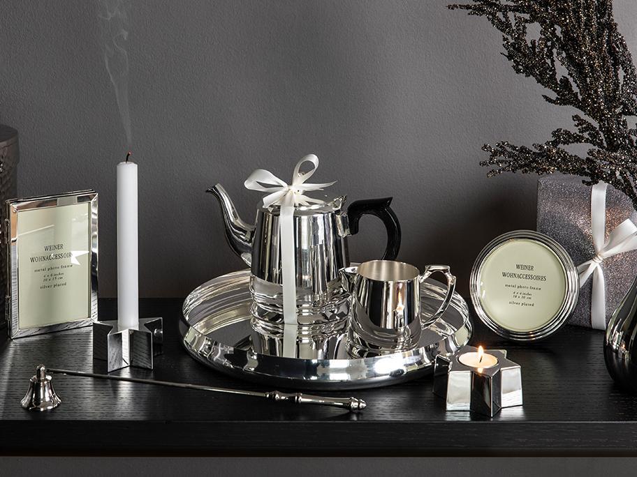 Zeitlose Accessoires in Silber