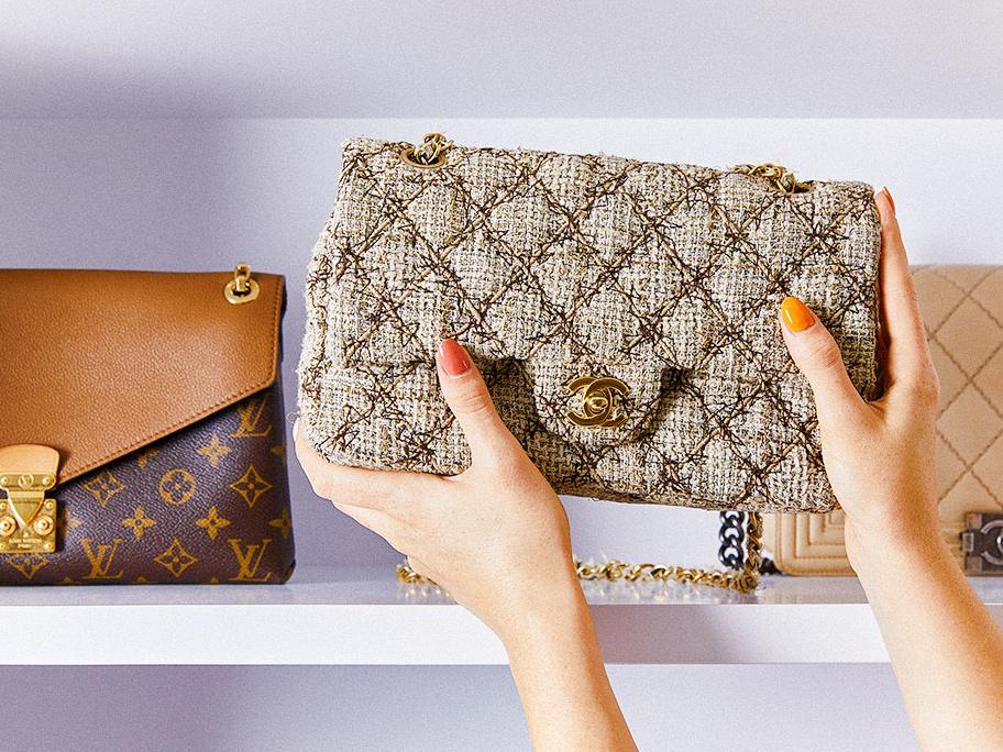 Vintage-Designer-Handtaschen