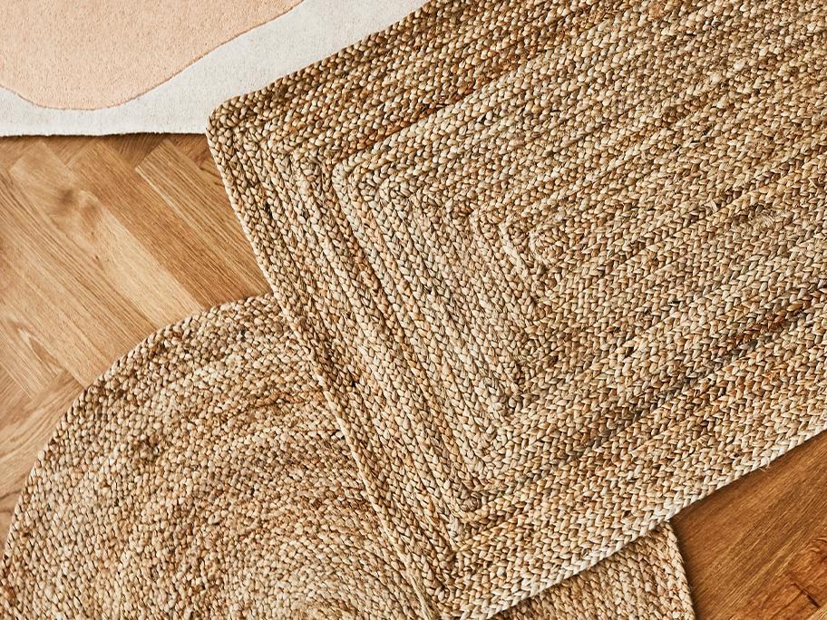 Teppiche aus Naturfasern