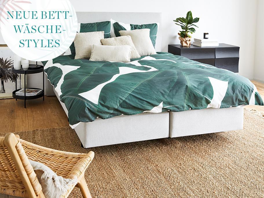 Unsere neuen Bettwäsche-Styles
