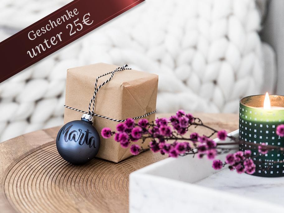 Geschenke mit kleinem Preis