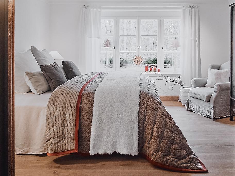 Tagesdecken & Bettläufer