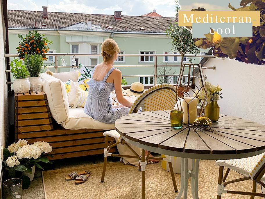 Unser Balkon-Styling Nr. 1