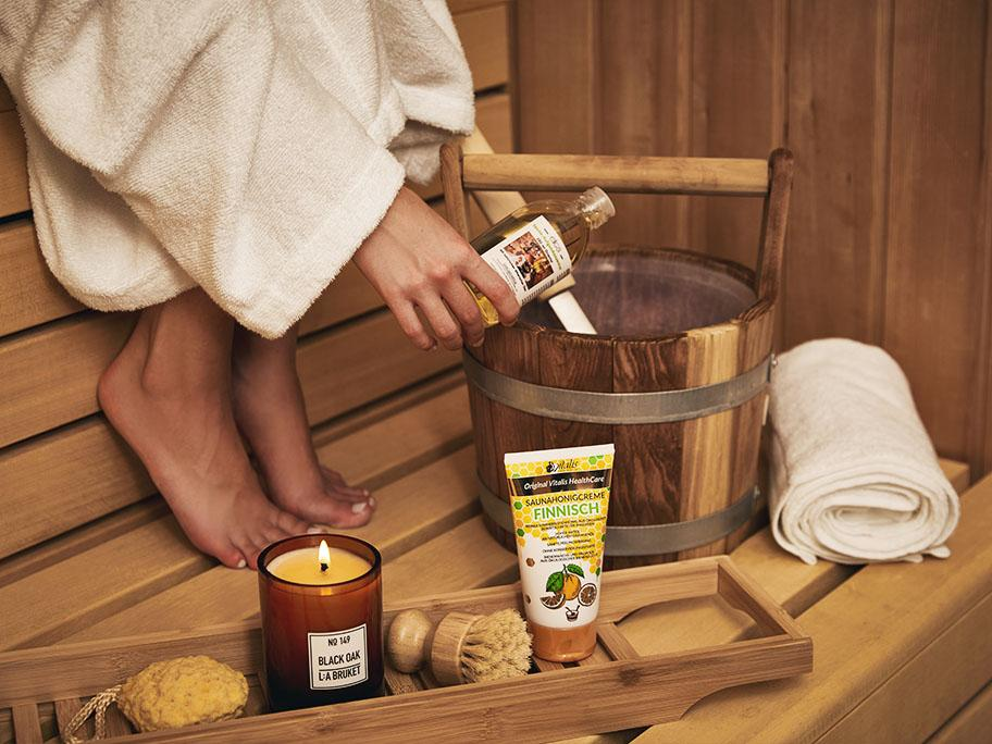 Accesorios para la sauna