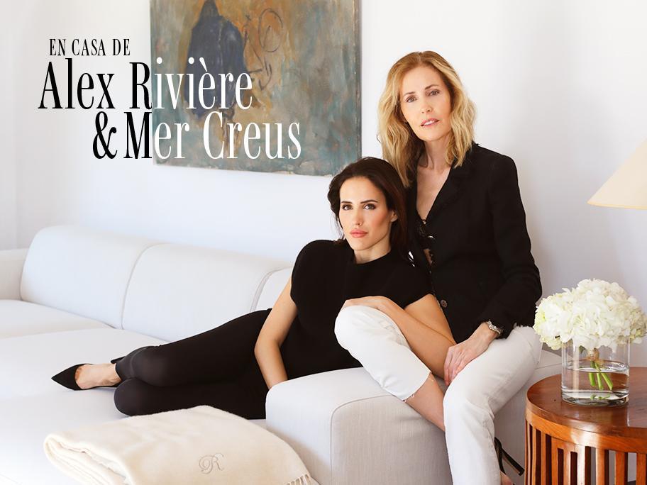 Alex Rivière y su madre