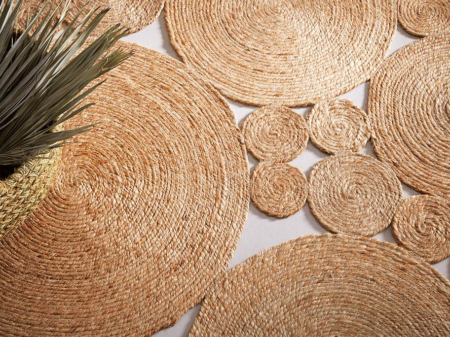 Cestas y alfombras artesanales
