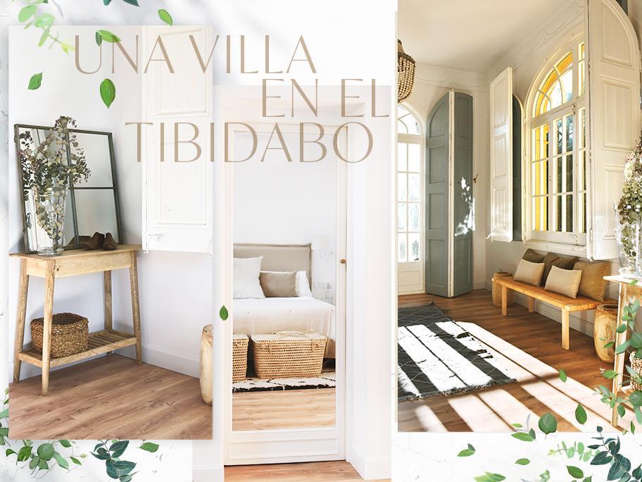 Una villa en el Tibidabo