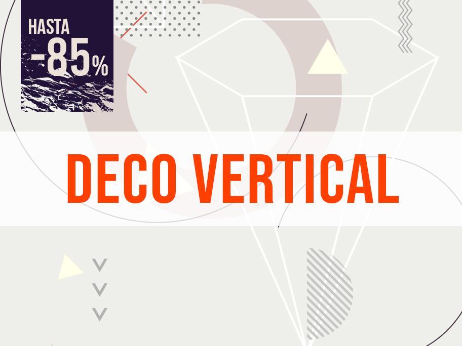 Decoración vertical
