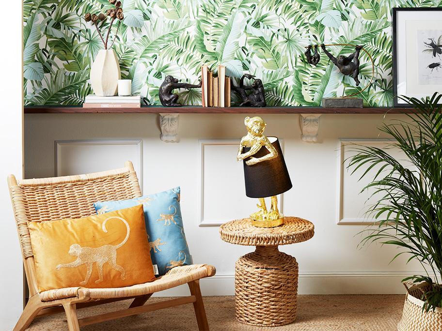 Una casa relajada y natural