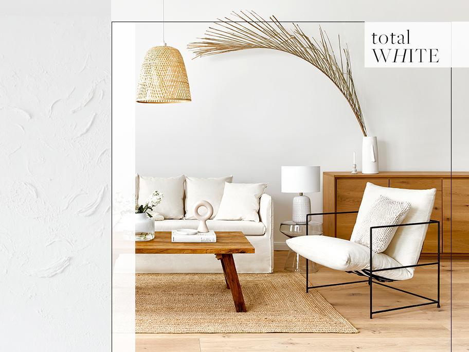 Blanco: elegancia y luz