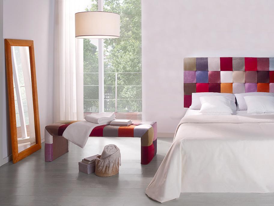 Dormitorio: tapizados a juego