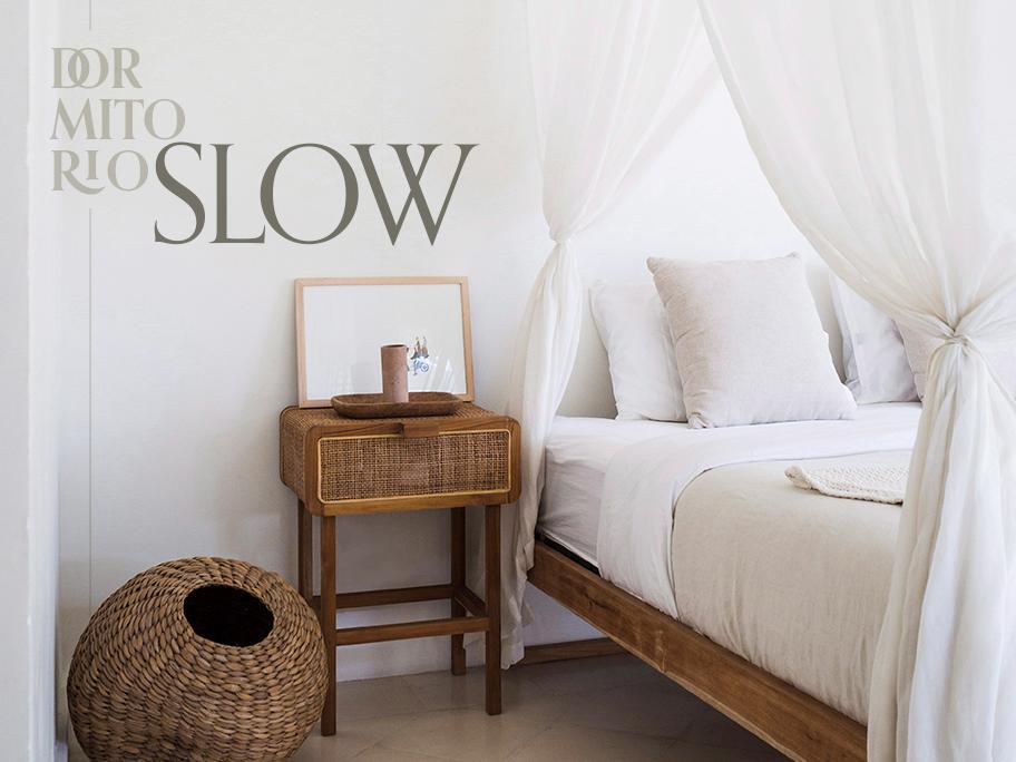 Así es el dormitorio slow