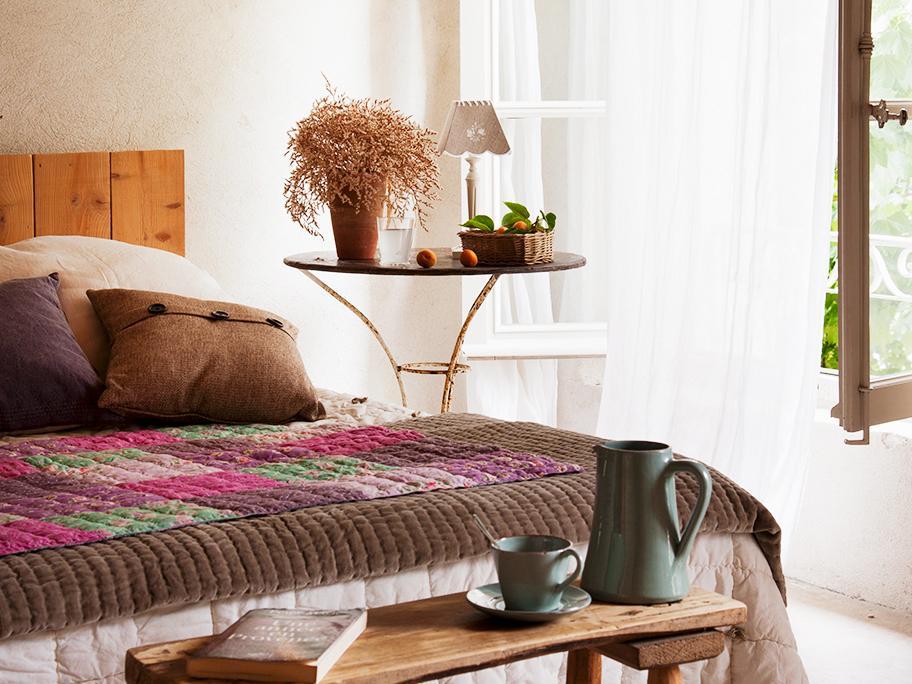 Dormitorio de campo