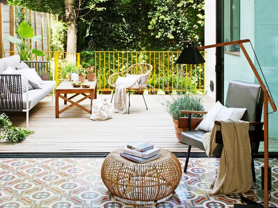 Una terraza con encanto