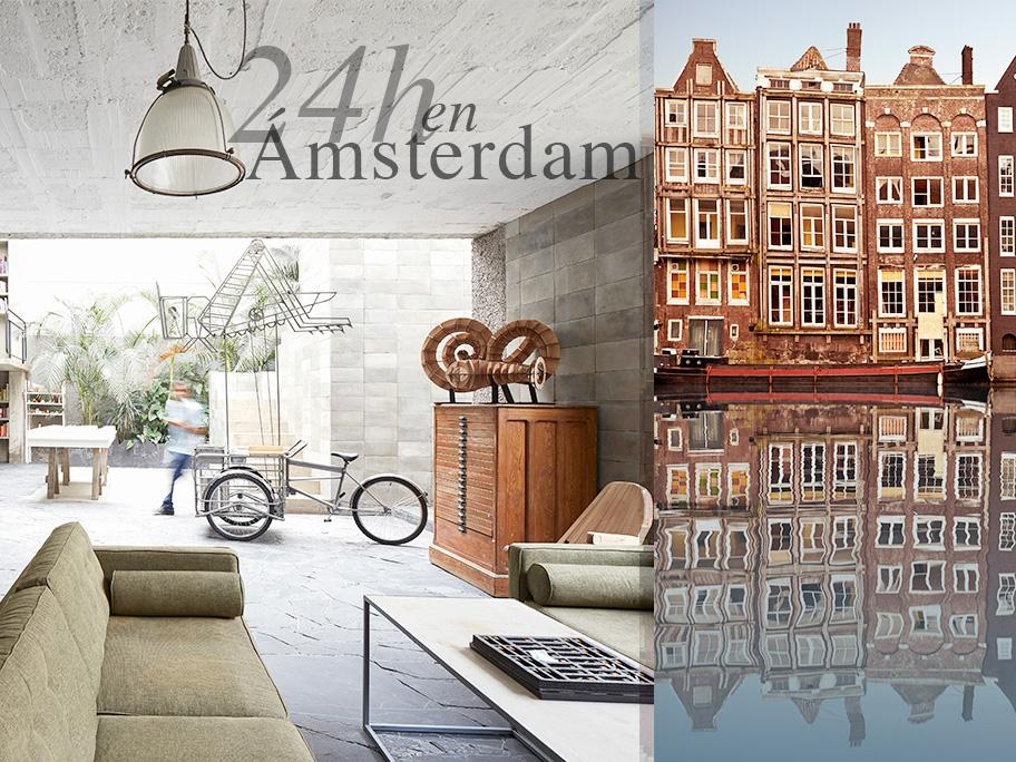 24 horas en Ámsterdam