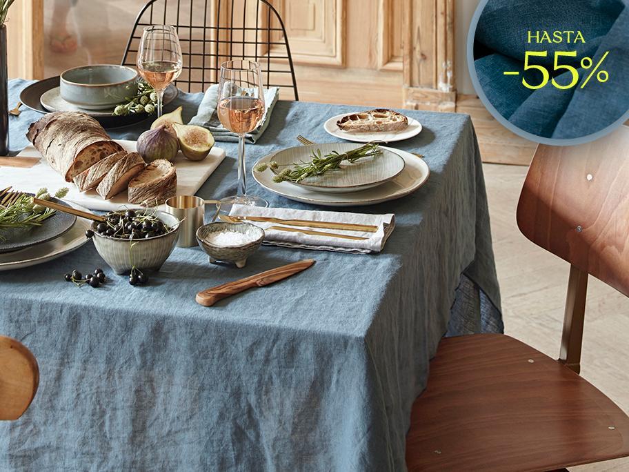 Una mesa bien vestida