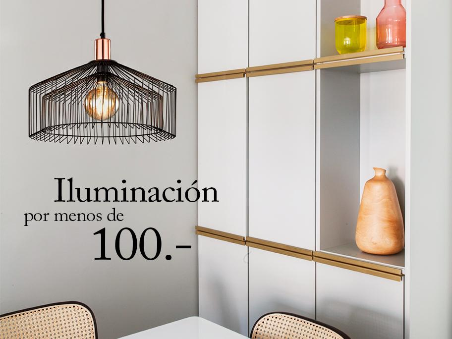 Iluminación por menos de 100€