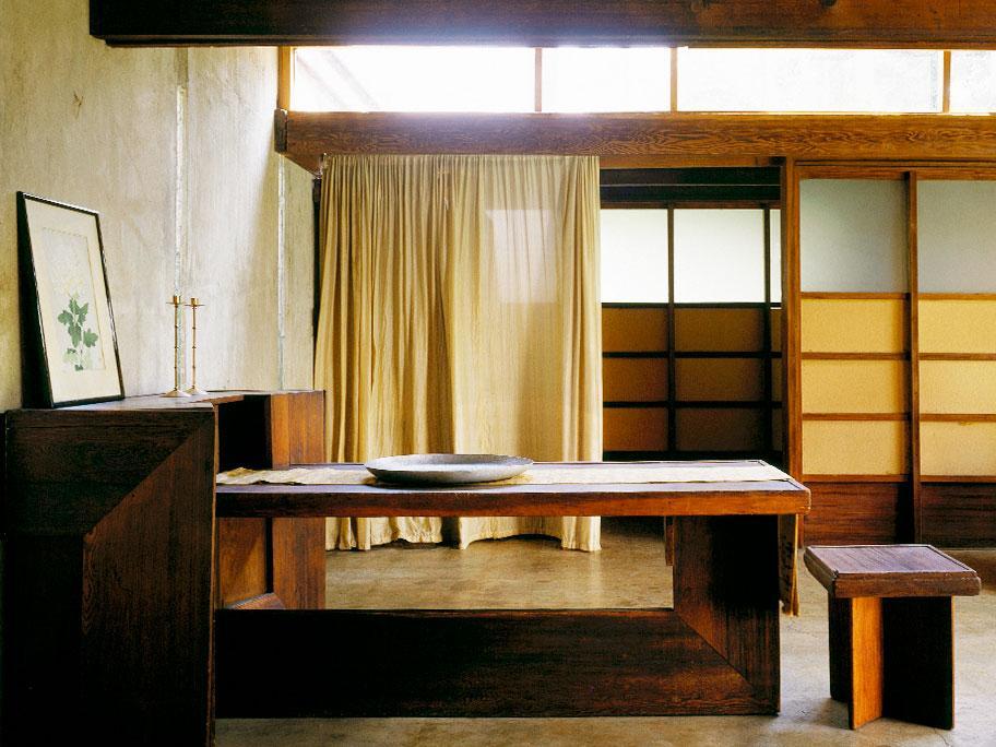 Una casa rural en Japón