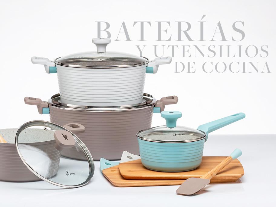 Baterías y útiles de cocina