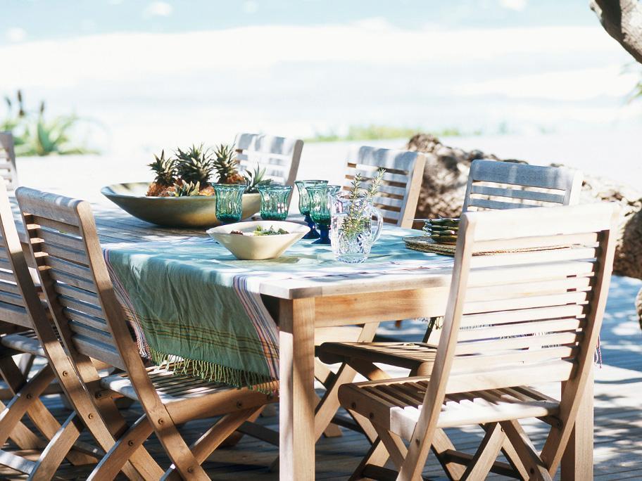 Mesa con sabor a mar