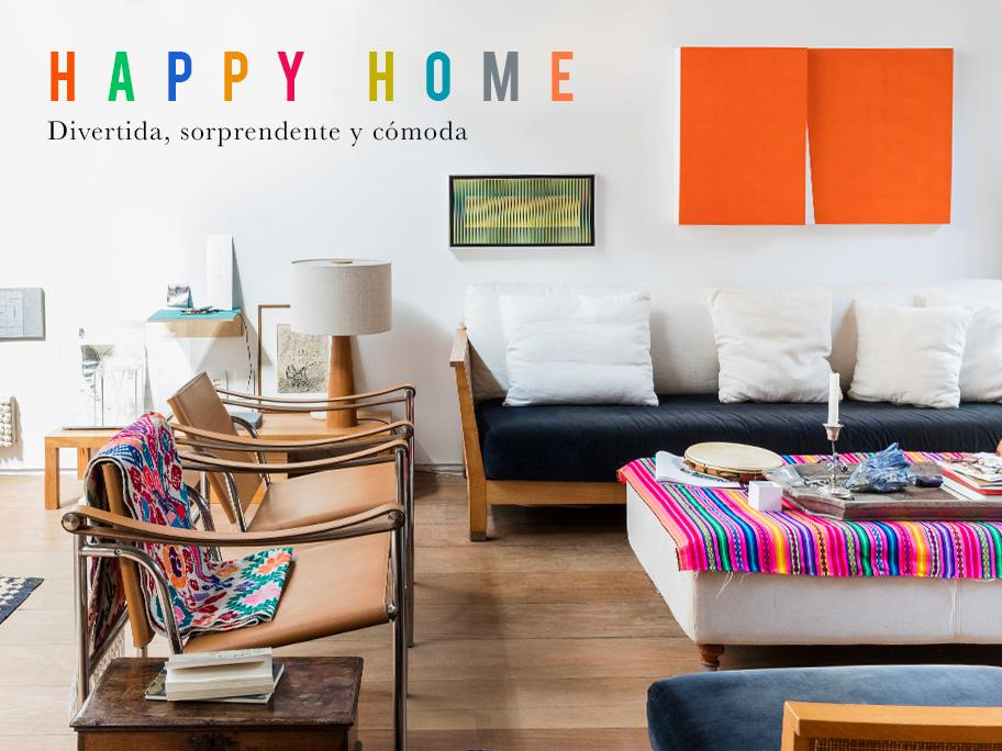 Una casa para ser feliz