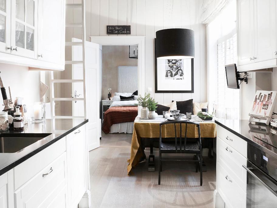 Un piso mini bien aprovechado