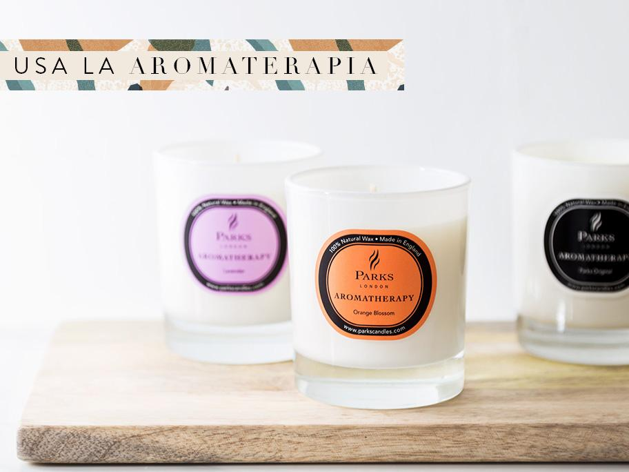 Usa la aromaterapia