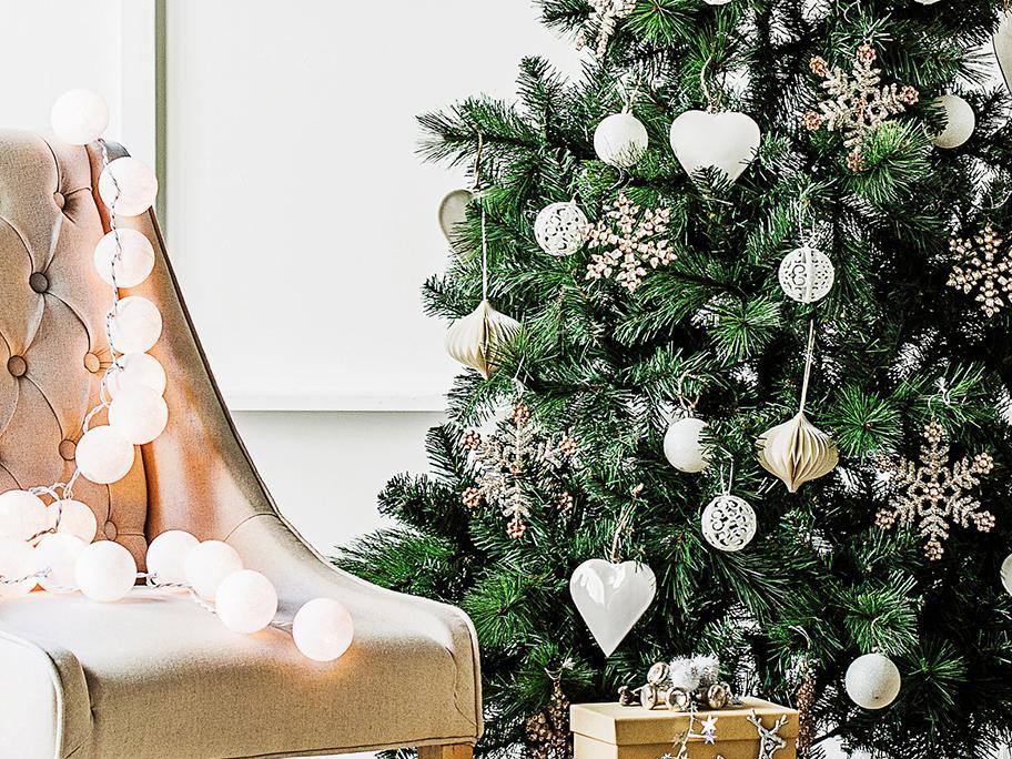 Decoración navideña cool