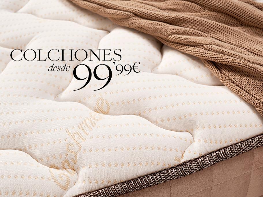 Colchones desde 99,99€