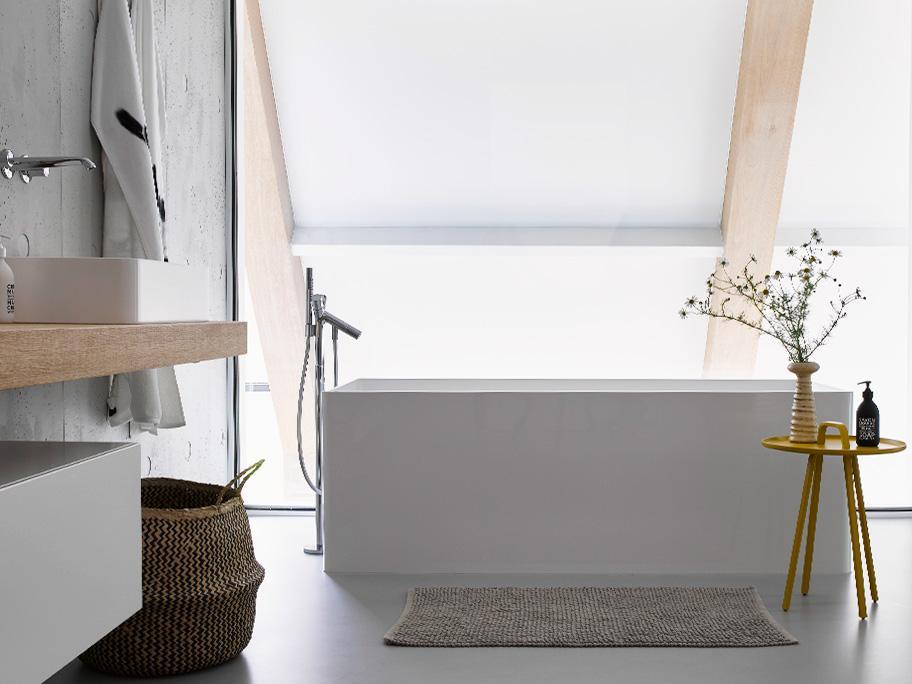 Un baño relajado