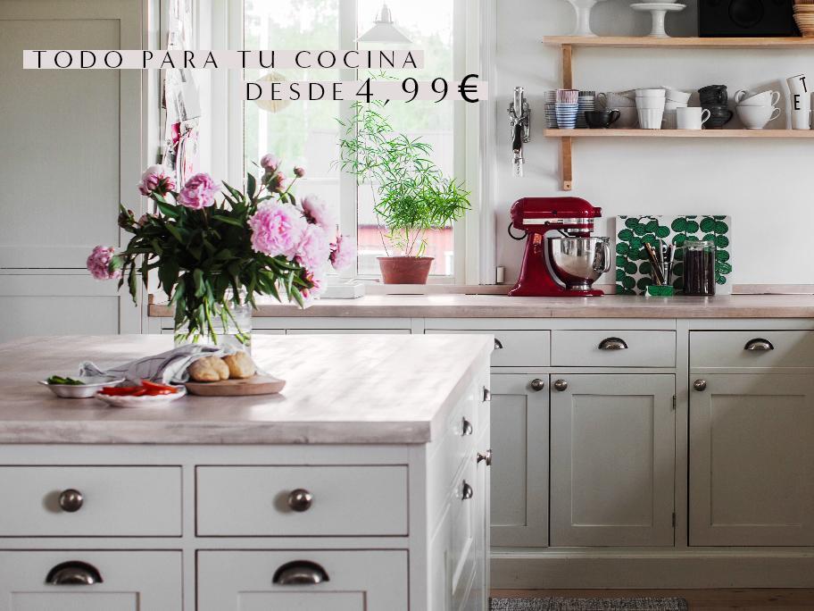 Cocina desde 4,99€