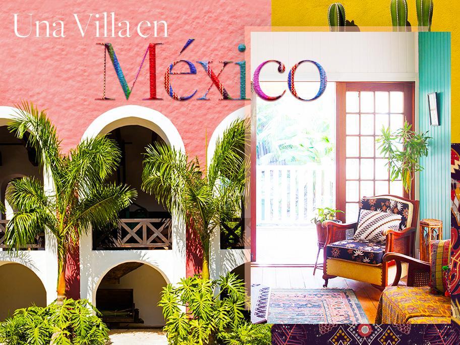 Una hacienda en México