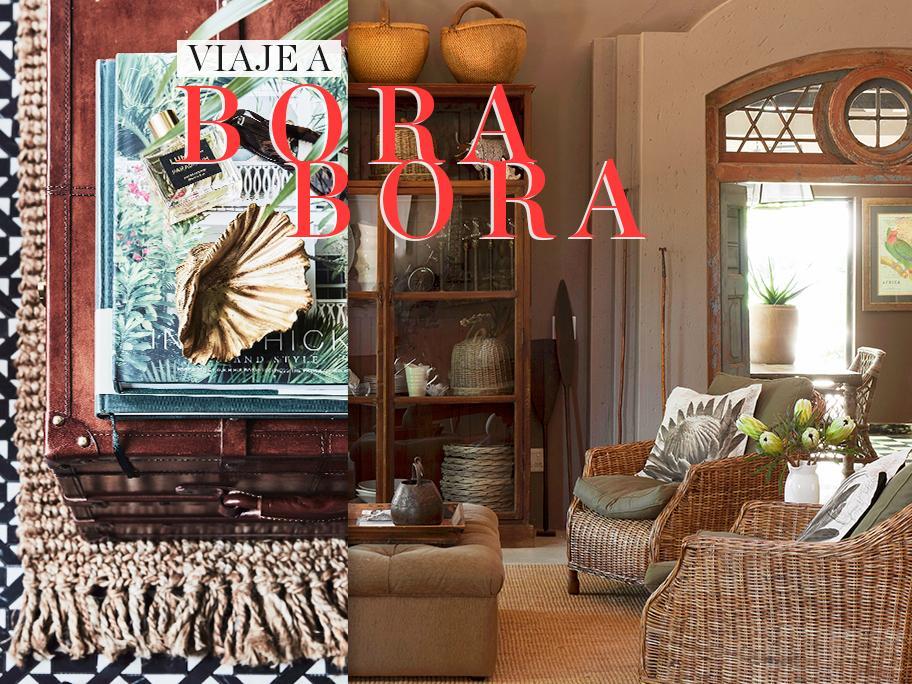 Viaje decorativo a Bora a Bora