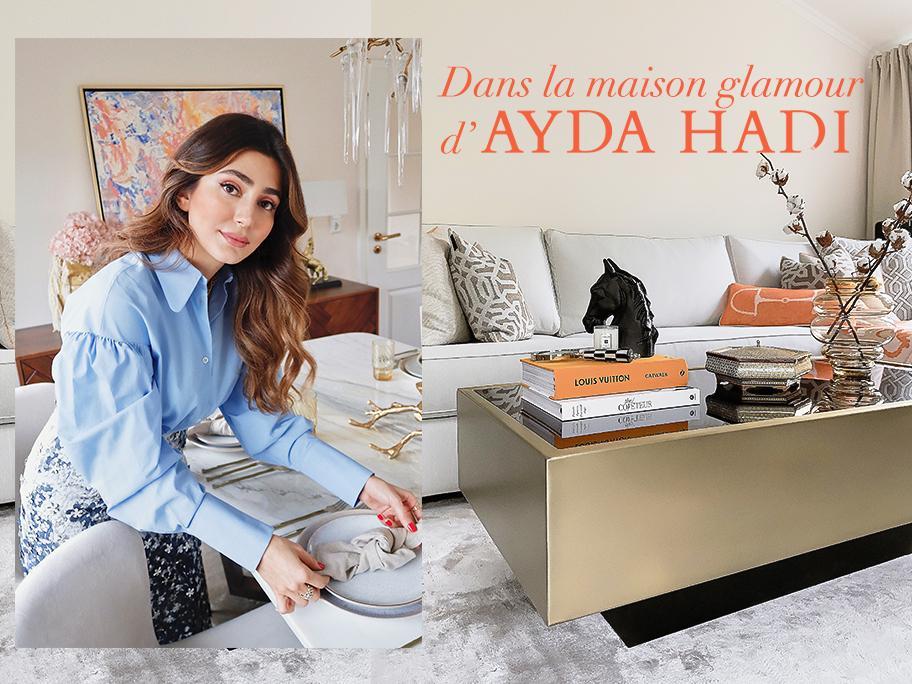 Ayda Hadi nous reçoit