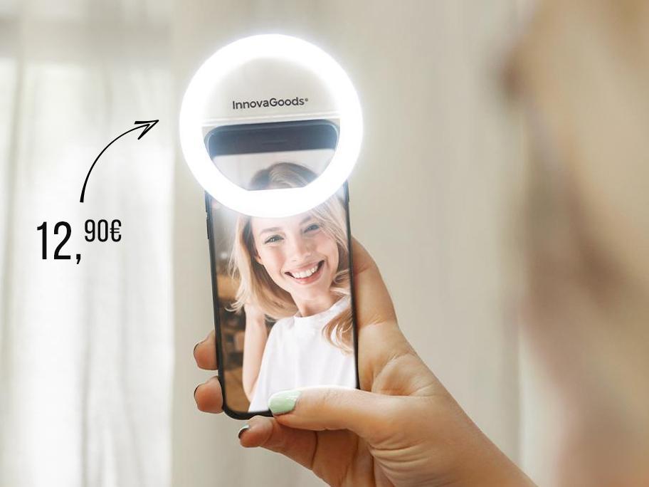 Astuce beauté : lampe à selfie