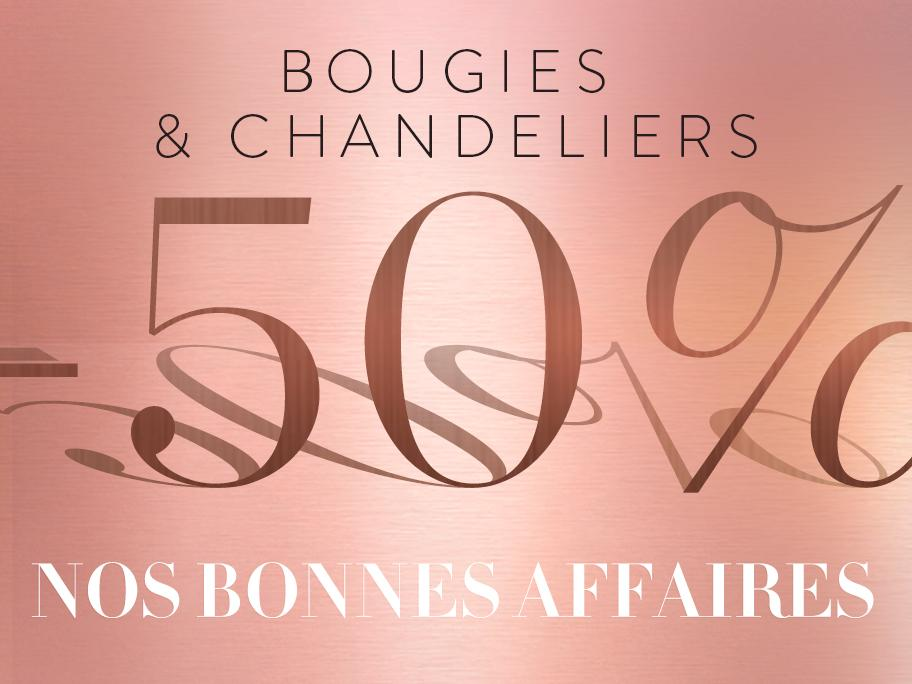 Bougies & chandeliers