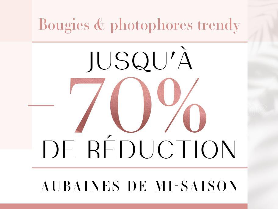 Bougies & photophores trendy