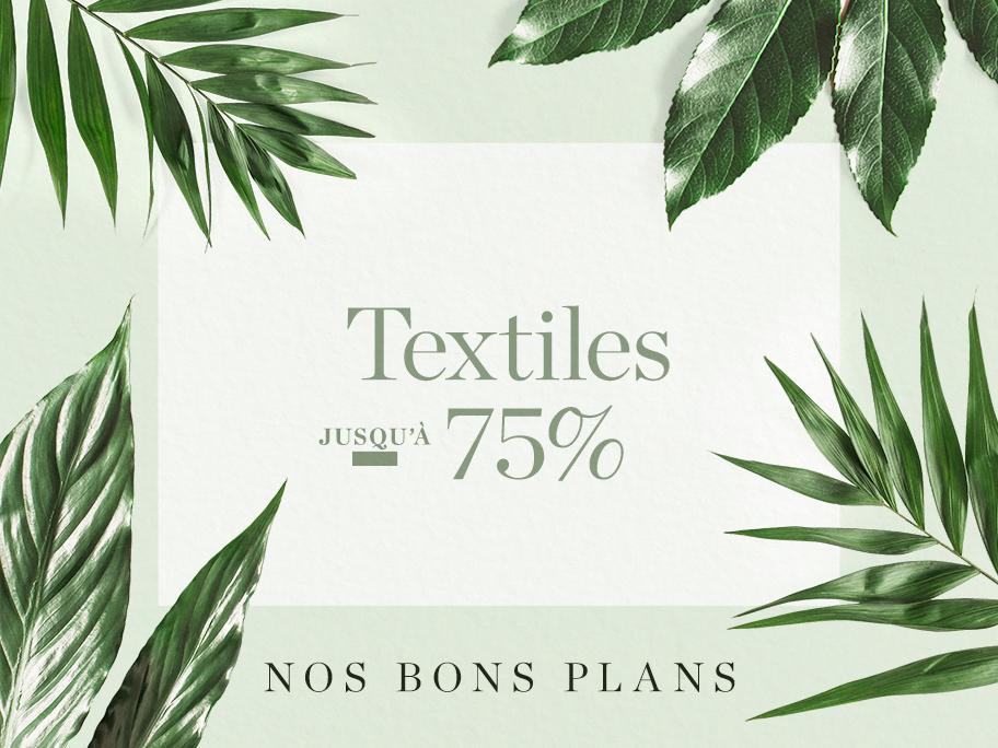 Nos bons plans : textiles