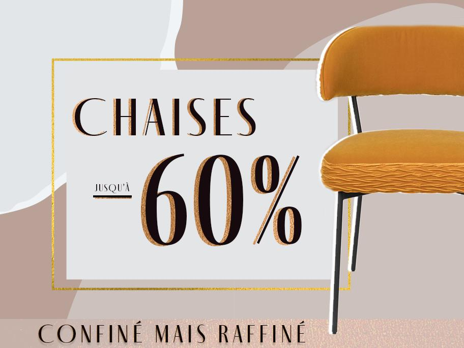 Chaises : mix and match !