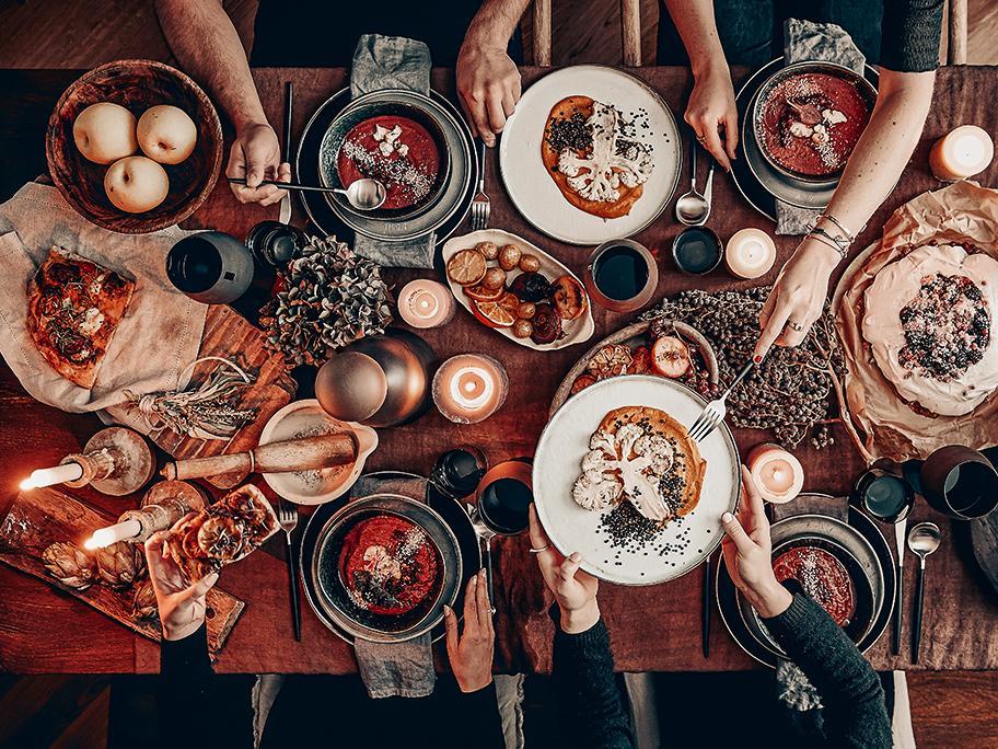 Idées d'automne : la table