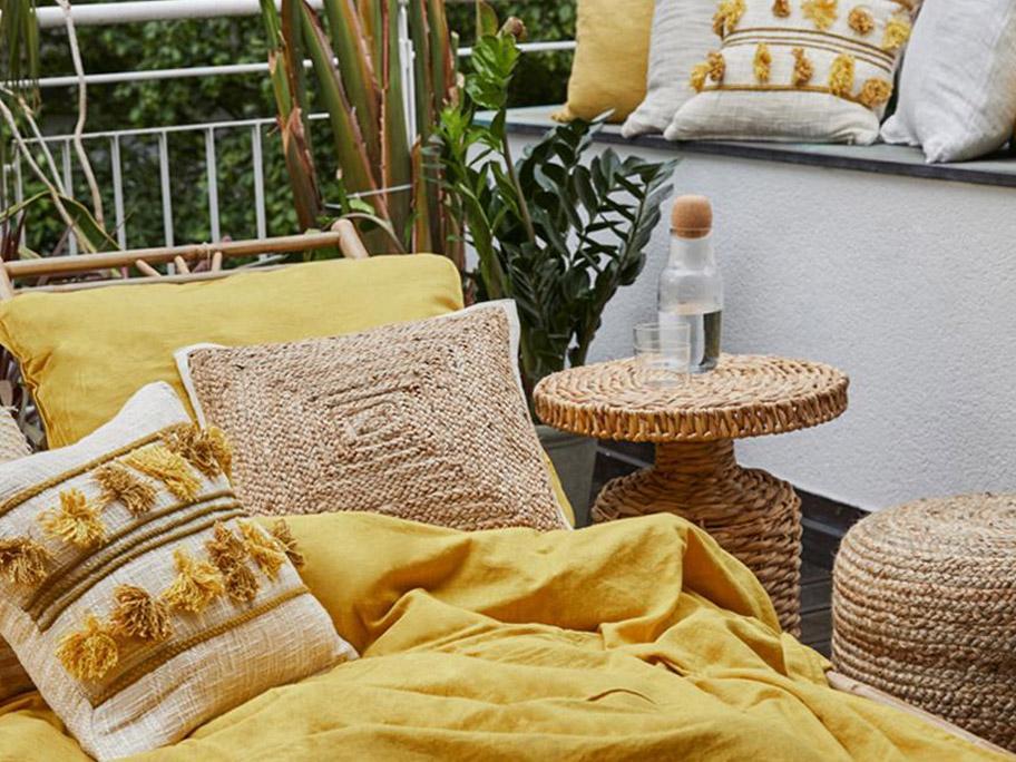 Les textiles Boho