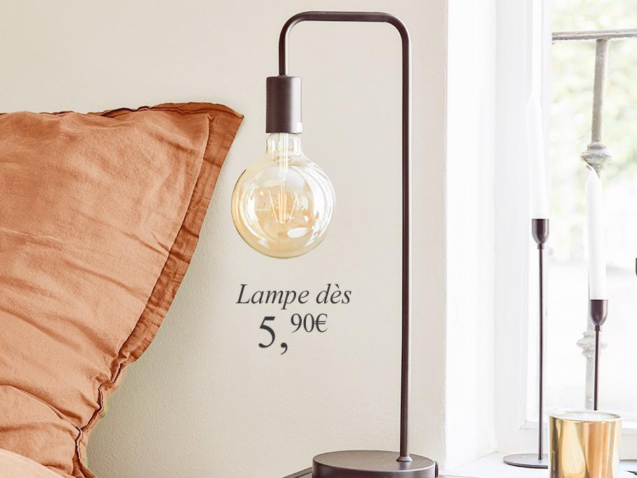 Quelle lampe pour la chambre ?