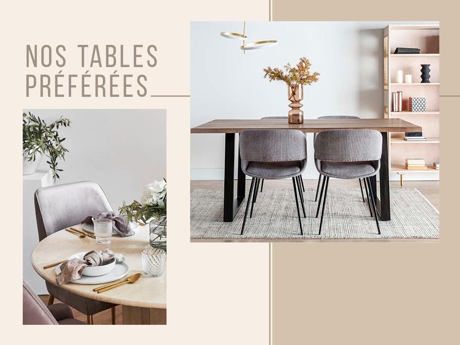 Parlons de… tables à manger