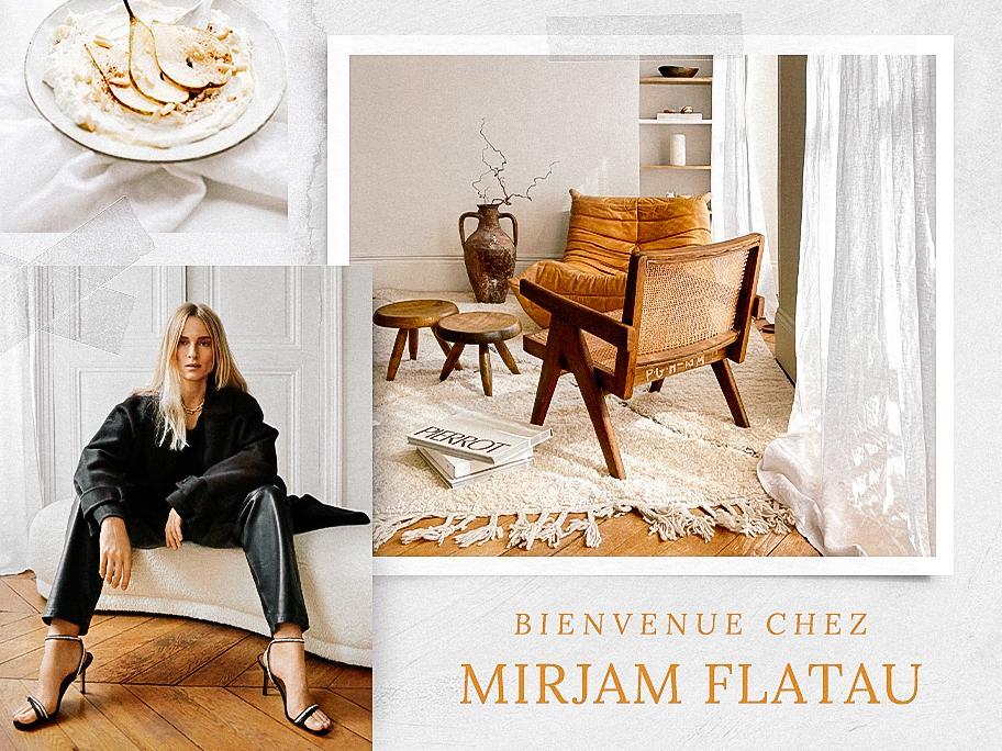 Avec Mirjam Flatau à Paris