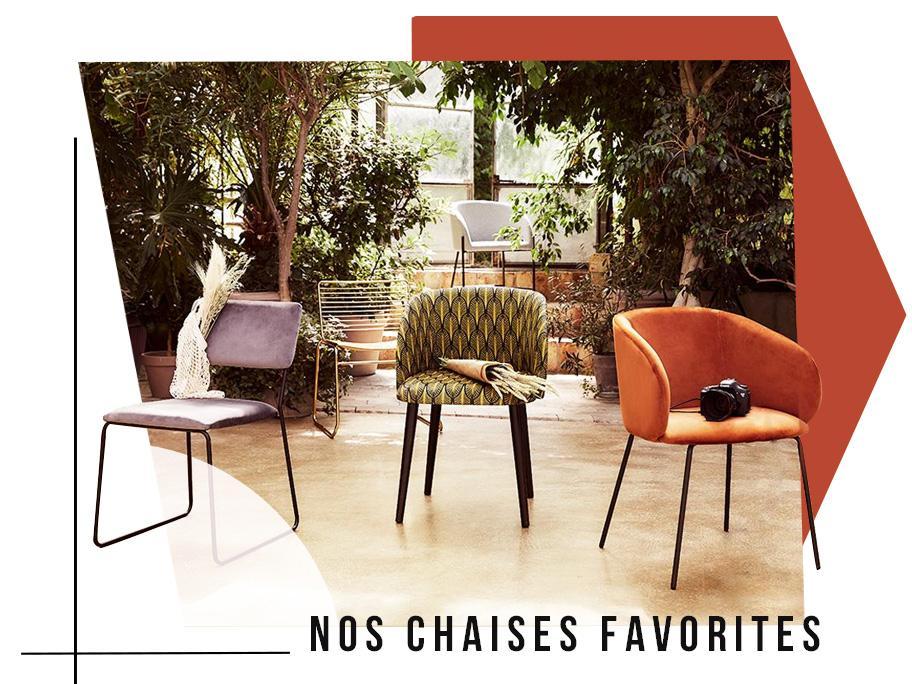 Nos chaises favorites