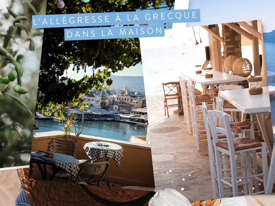 Ambiance vacances en Grèce