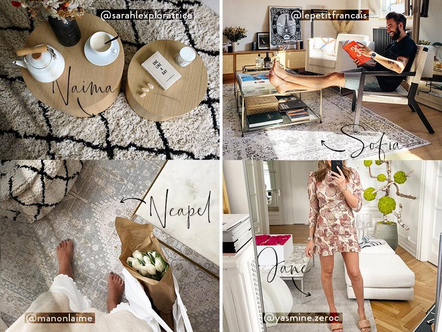 Nos tapis, stars d'Instagram