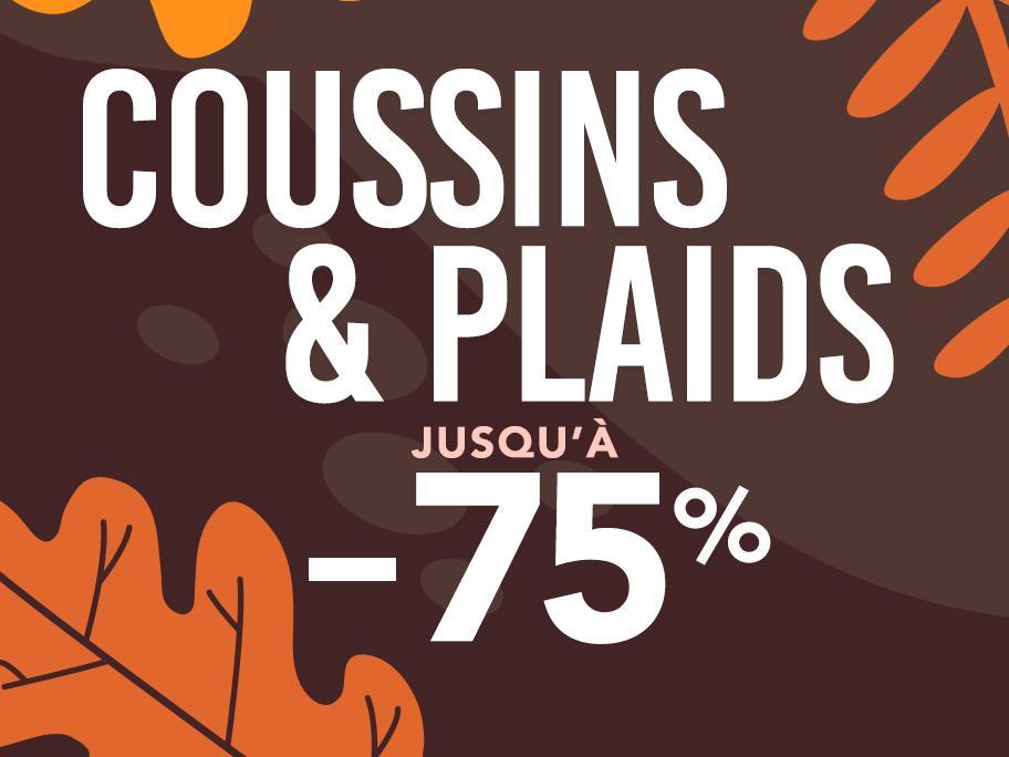 Coussins & plaids