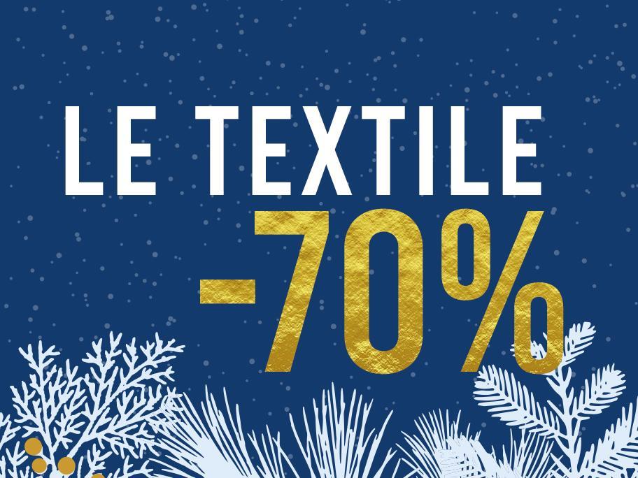 Notre braderie : le textile