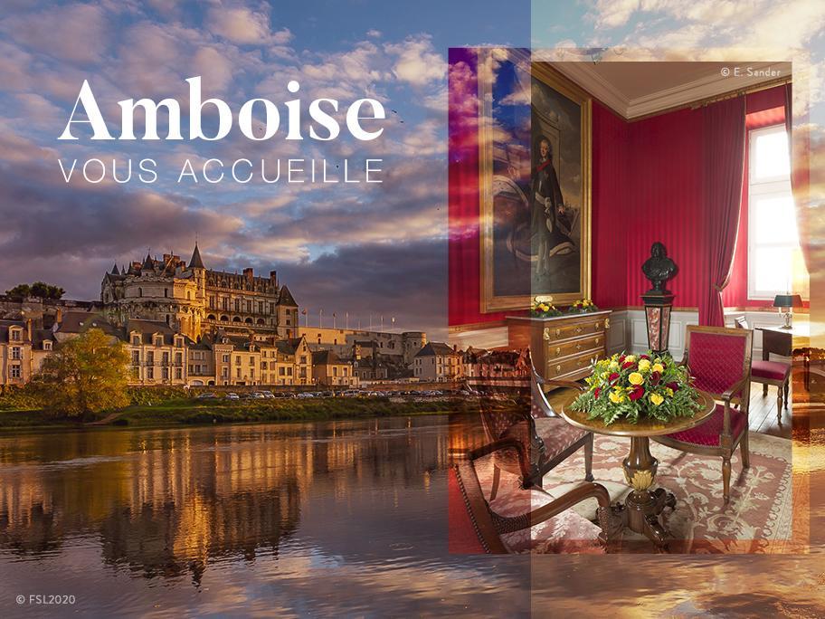 Bienvenue au château d'Amboise